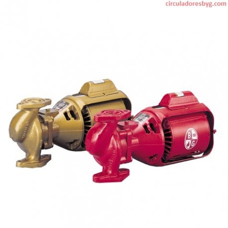 2-NFI Bell & Gossett 1/6 Hp Circulador para Agua Caliente