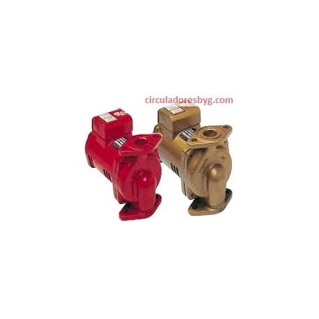 PL-100 Bell & Gossett 2/5 Hp Circulador para Agua Caliente Parte Número 1BL134
