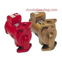 PL-55 Bell & Gossett 2/5 Hp Circulador para Agua Caliente