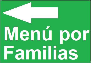 Menú por Familias